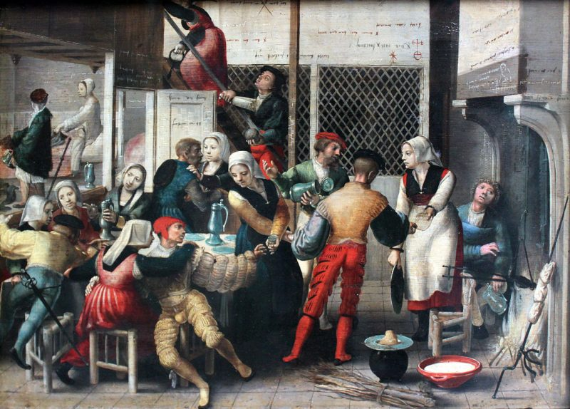 Портовый бордель. XVI век.