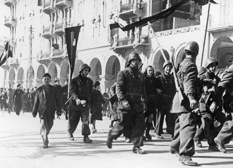 Солдаты Итальянской социальной республики - батальон «Барбериго».