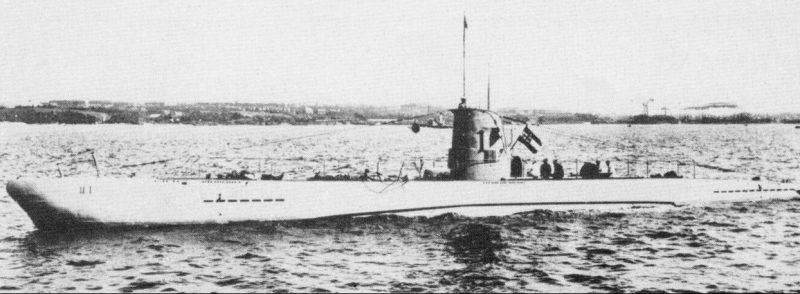 «U-1» - малая подлодка типа IIA.