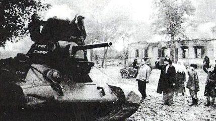 Красная Армия входит в Мелитополь.