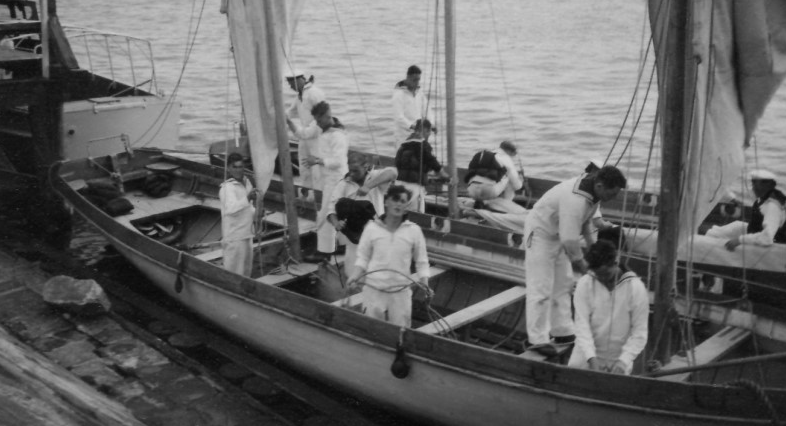 Морская подготовка. Штральзунд, 1938 г.