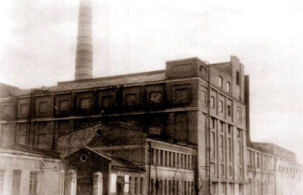 Кременчугская электростанция. 1941 г.