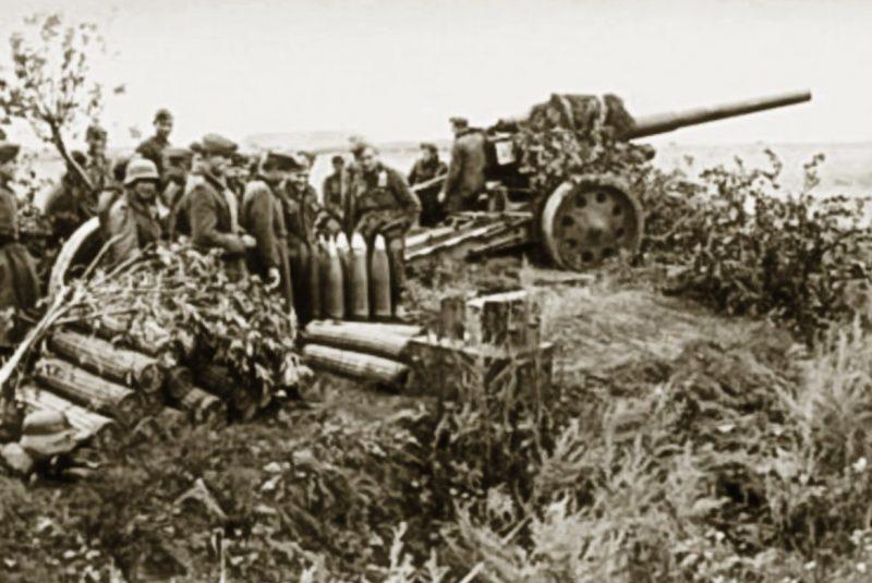 Немецкие войска у Глухова. Сентябрь 1941 г.
