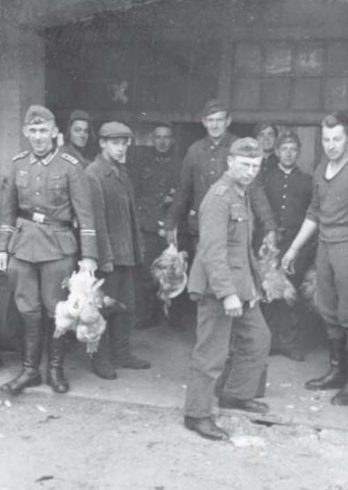 Оккупированный Бердянск. 1941 г.