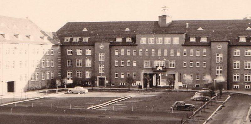 Военно-морское училище в Везермюнде для подготовки унтер-офицеров.
