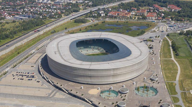 Городской стадион Вроцлава сегодня.