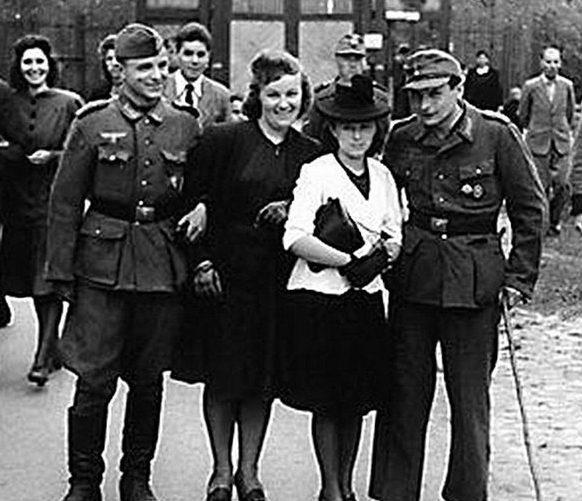 Француженки щедрее всех одарили венерическими болезнями немецких военнослужащих.