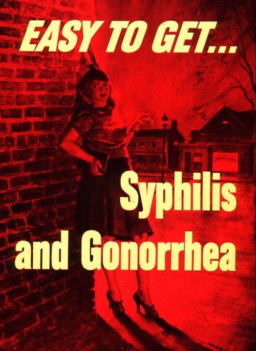 Легко получить...сифилис и гонорею.