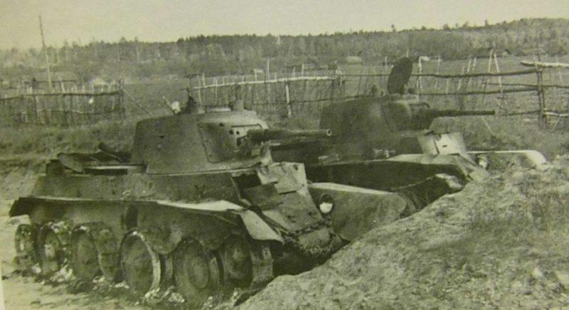 Брошенные советские танки. Сентябрь 1941 г.