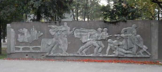 Фрагмент памятника.