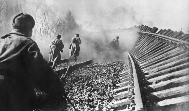 Уличные бои. Февраль 1945 г.