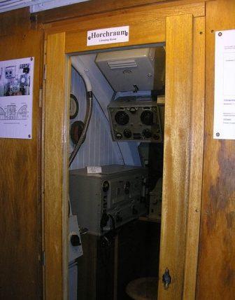 Пост гидроакустика на подлодке «U-995».
