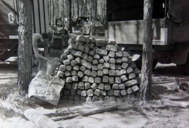 Немецкая полевая пекарня. Сентябрь 1941 г.