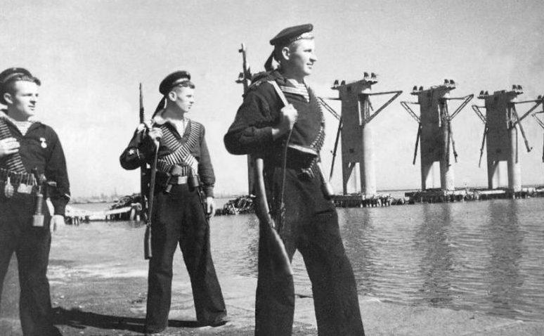 Порт Мариуполь. 1943 г.