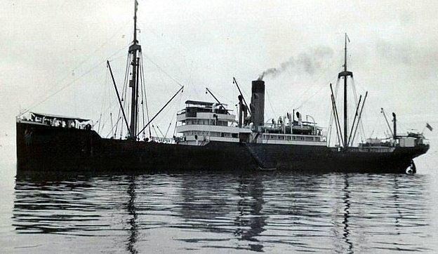 Корабль SS Porta, который выглядел в точности как затонувший SS Minden.