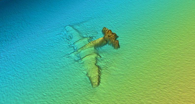 Артефакт на морском дне.
