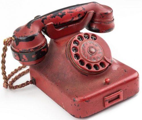 Именной телефон Гитлера.