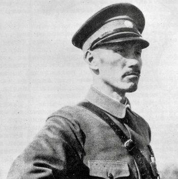 Чан Кайши в 1933 году.