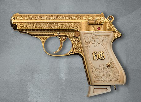 Именной пистолет Германа Геринга.