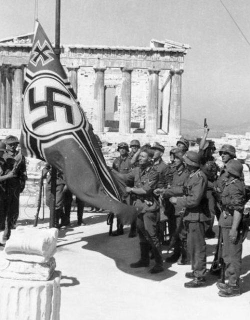 Немецкие войска в Греции. Апрель 1941 г.