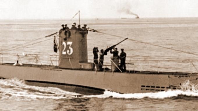 Подлодка U-23.