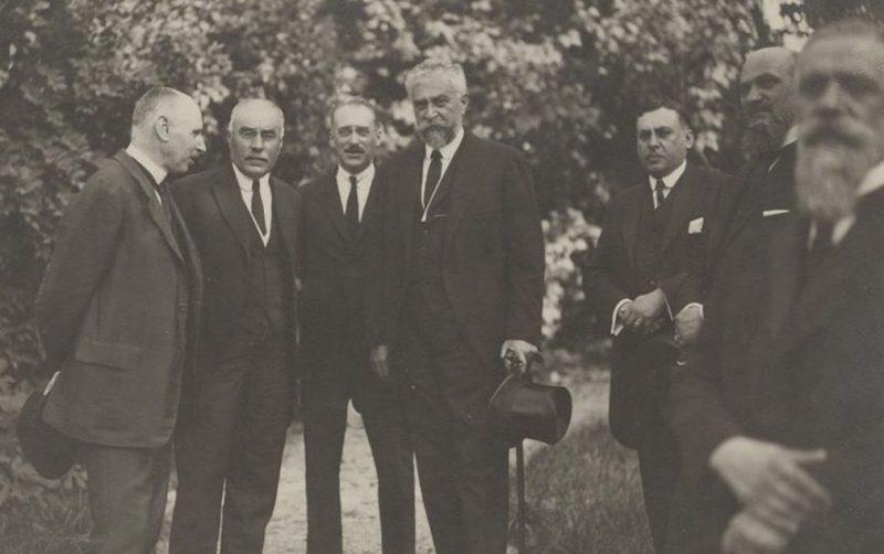 Руководящий состав Сигуранцы в 1908 году.