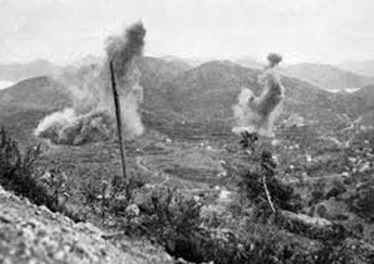 Бомбардировка Лероса.