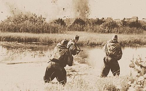 Первое наступление Воронежского фронта на правом берегу Днепра