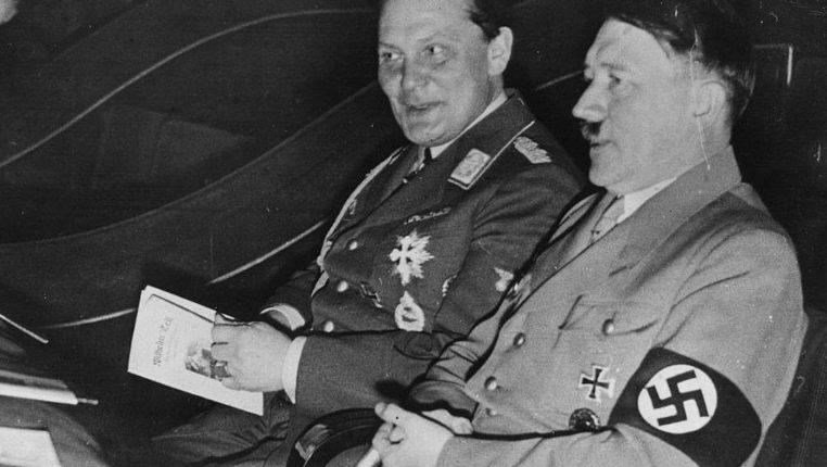 Герман Герин и Адольф Гитлер.