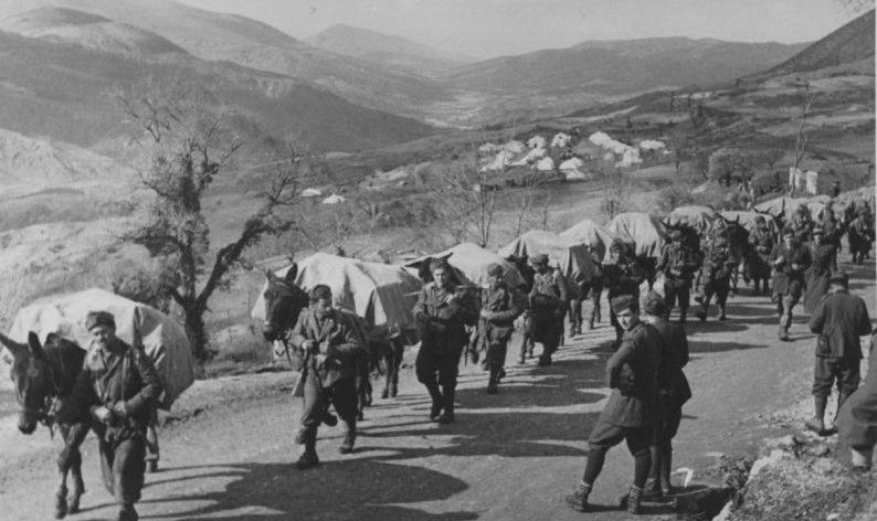 Итальянские войска в Греции. 1941 г.