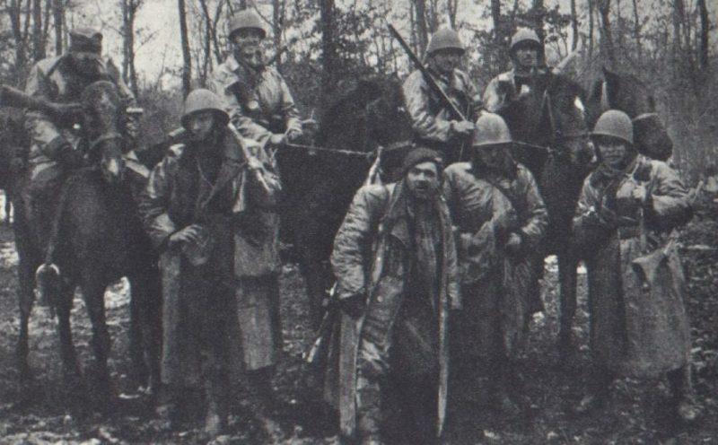 Подразделения Армии Крайовой.