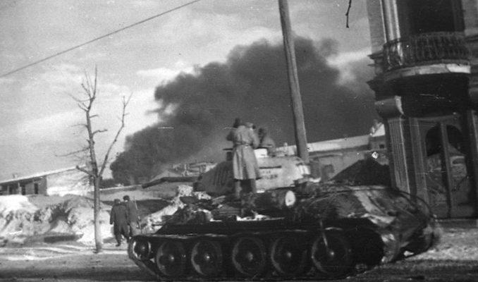 Бой за Кировоград.
