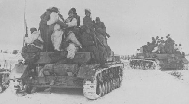 Наступление 5-й гвардейской танковой армии.