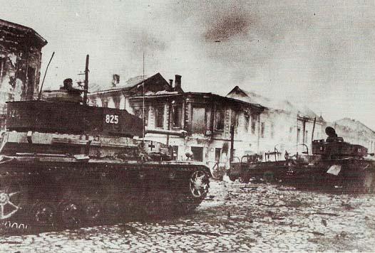 Немецкие танки снова в Житомире. Ноябрь 1943 г.