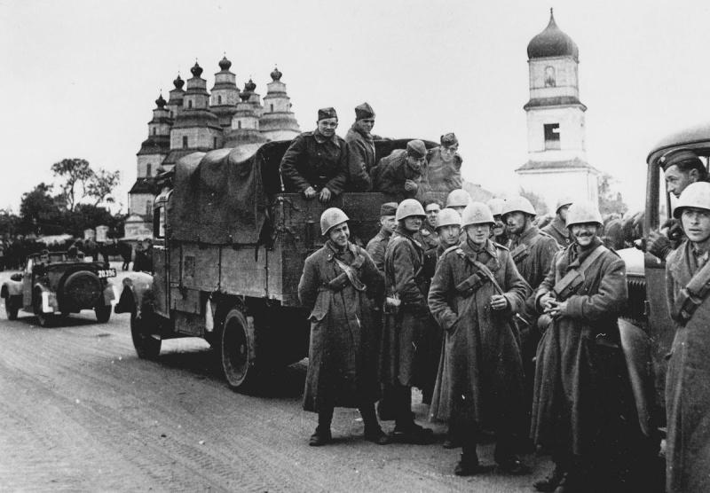 Итальянцы на Восточном фронте. 1941 г.