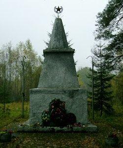 д. Бакланово Демидовского р-на. Братская могила советских воинов.