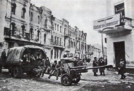 Красная Армия входит в Житомир.