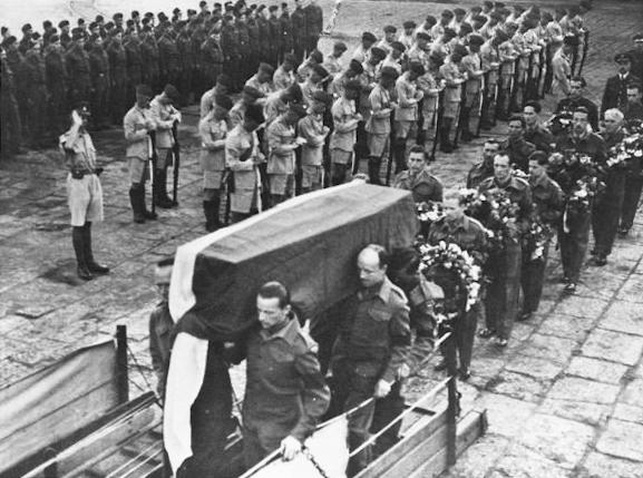 Похороны Сикорского.