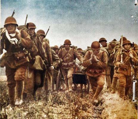 Солдаты Квантунской армии в Маньчжурии. 1932 г.