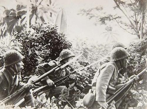 Пехота ВМС Японии. Новая Гвинея 1942 г.
