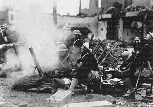 Японские войска в Шанхае. 1932 г.