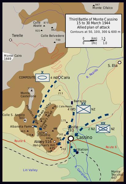 План третьего сражения.