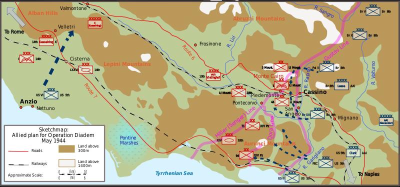 План четвертого сражения.