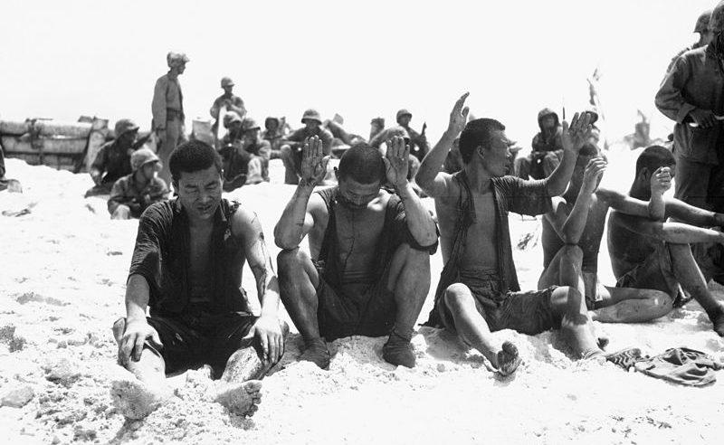 Японские военнопленные.