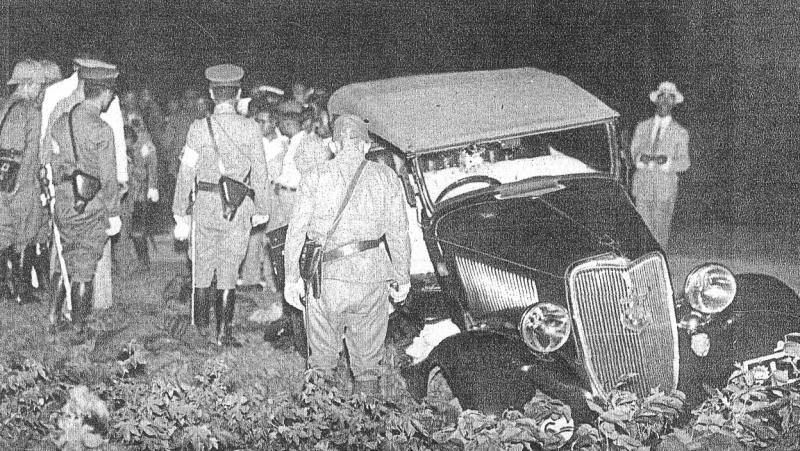 Инцидент с Оямой. 9 августа 1937 г.