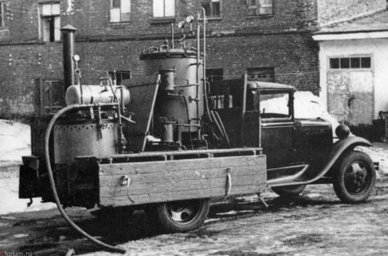 Дезинсекторные машины. 1944 г.