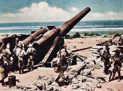 Батарея на Херне. 6 мая 1942 г.