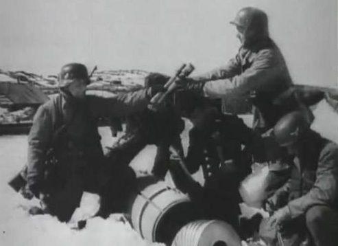 Парашютисты возле Нарвика в Норвегии. Апрель 1940 г.