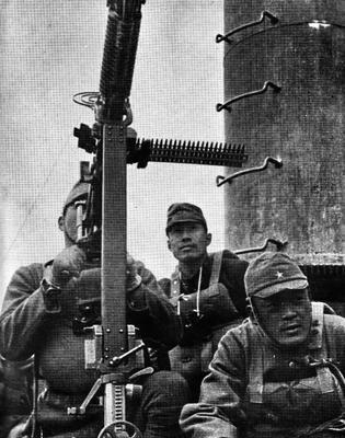 Японские войска на острове Киска Алеутских островов. Аляска, 6 июня 1942 г.
