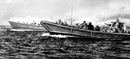 Военно-морские катера типа 95. 1942 г.